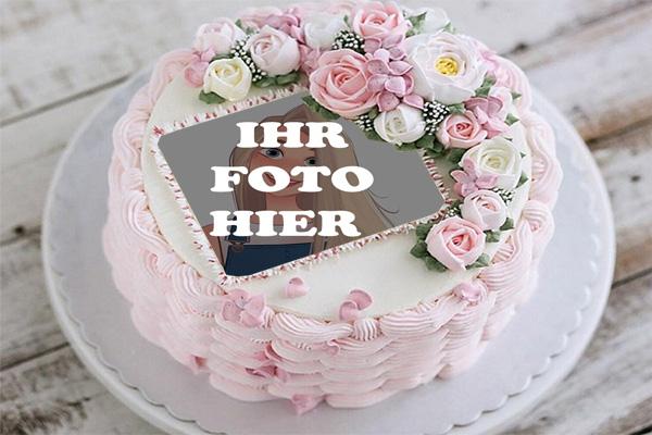 Alles Gute Zum Geburtstag Kuchen Bilderrahmen - Alles Gute Zum Geburtstag Kuchen Bilderrahmen