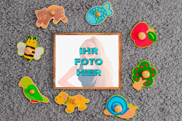 Baby Spielzeug Bilderrahmen - Baby Spielzeug Bilderrahmen