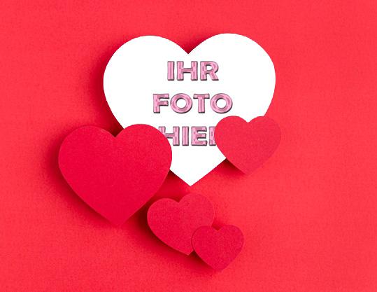 Du Bist In Meinem Herzen Romantisch Bilderrahmen - Du Bist In Meinem Herzen Romantisch Bilderrahmen