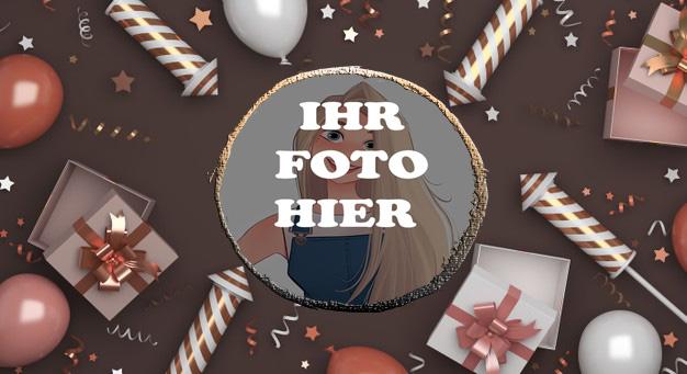 Frohes Neues Jahr Bilderrahmen - Frohes Neues Jahr Bilderrahmen