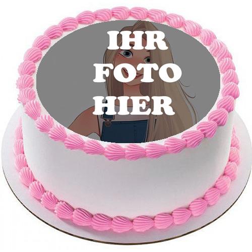 Grosse Geburtstagstorte Mit Weisser Creme Bilderrahmen - Große Geburtstagstorte Mit Weißer Creme Bilderrahmen