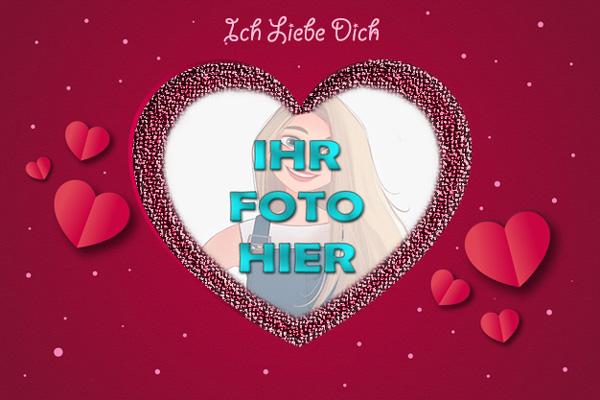Ich Liebe Dich Valentinstag Bilderrahmen - Ich Liebe Dich Valentinstag Bilderrahmen
