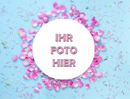 Jungfrau Blumen Romantisch Bilderrahmen - Jungfrau Blumen Romantisch Bilderrahmen