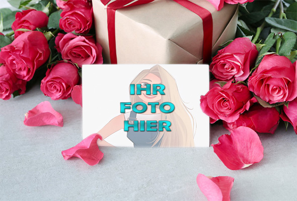 Liebe Ist Geschenk Valentinstag Bilderrahmen - Liebe Ist Geschenk Valentinstag Bilderrahmen