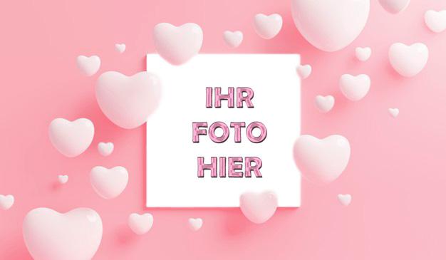 Liebe Ist Schoen Romantisch Bilderrahmen - Liebe Ist Schön Romantisch Bilderrahmen