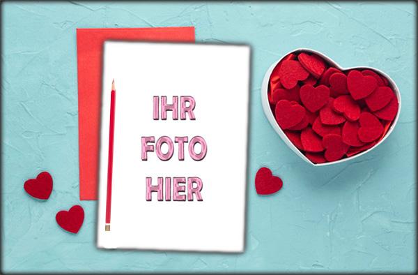 Liebesbrief Romantisch Bilderrahmen - Liebesbrief Romantisch Bilderrahmen