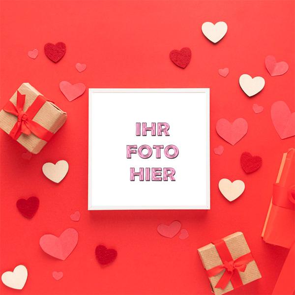 Liebesgeschenk Romantisch Bilderrahmen - Liebesgeschenk Romantisch Bilderrahmen