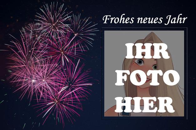 Schoen Neujahr Bilderrahmen - Schön Neujahr Bilderrahmen