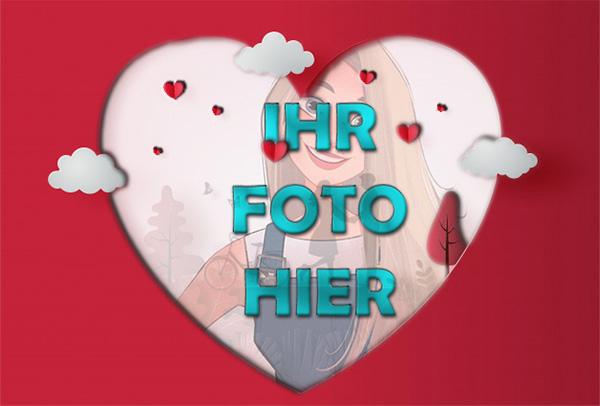 Schoene Liebe Valentinstag Bilderrahmen - Schöne Liebe Valentinstag Bilderrahmen
