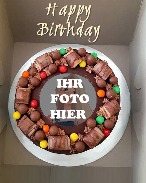 Schokoladen Knuspriger Kuchen Bilderrahmen - Schokoladen Knuspriger Kuchen Bilderrahmen