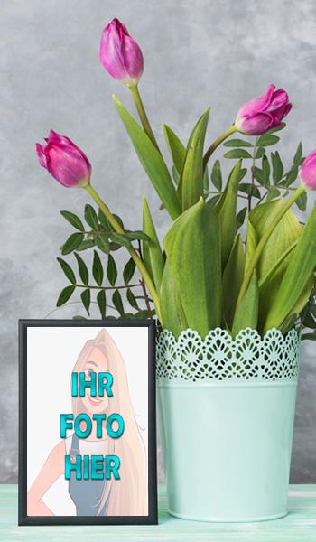 wunderschoenen Romantisch Blumen Bilderrahmen - wunderschönen Romantisch Blumen Bilderrahmen