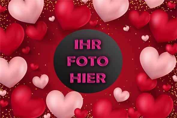 wunderschoenen Valentinstag Bilderrahmen - Bilderrahmen