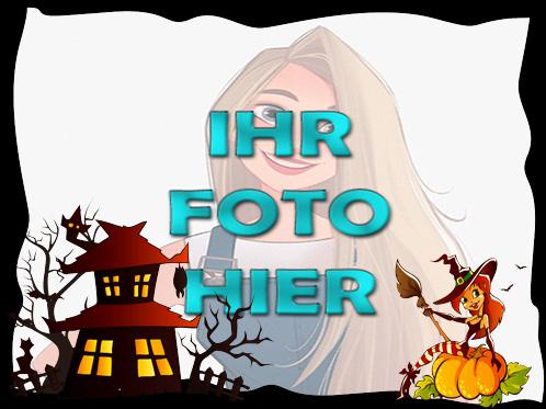 Erschreckende Angst Halloween Fotofreie Rahmen - Erschreckende Angst Halloween Fotofreie Rahmen
