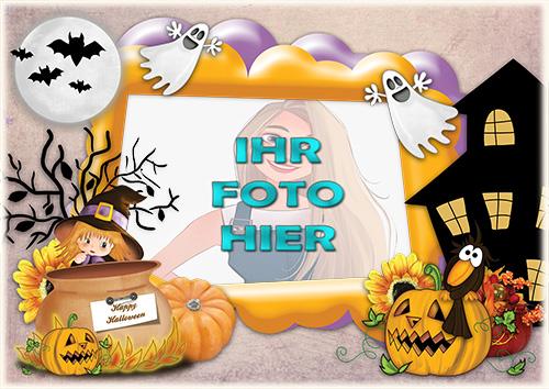 Es provoziert Angst Halloween Fotorahmen - Es provoziert Angst Halloween Fotorahmen