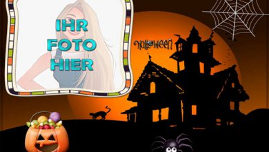 Fest der Panik Halloween Fotorahmen Design 390x220 - Fest der Panik Halloween Fotorahmen Design