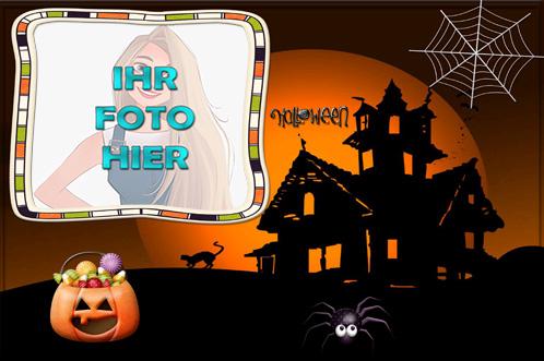 Fest der Panik Halloween Fotorahmen Design - Fest der Panik Halloween Fotorahmen Design