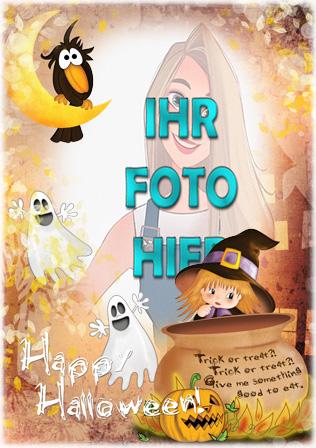 Halloween Online Fotorahmen - Halloween Online-Fotorahmen