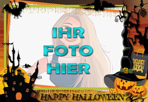 Halloween Online Rahmen - Halloween Online-Rahmen