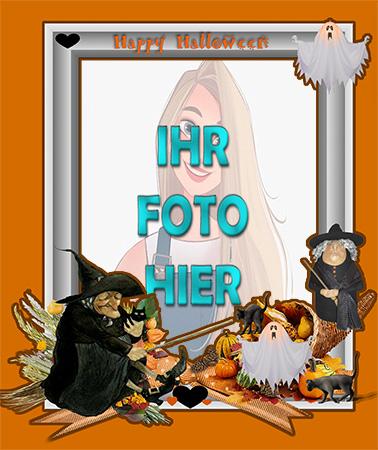 Zu erschreckend Halloween digitale Fotorahmen online - Zu erschreckend Halloween digitale Fotorahmen online
