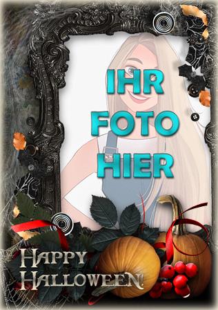 sehr gruselig Halloween Online Fotorahmen - sehr gruselig Halloween Online-Fotorahmen